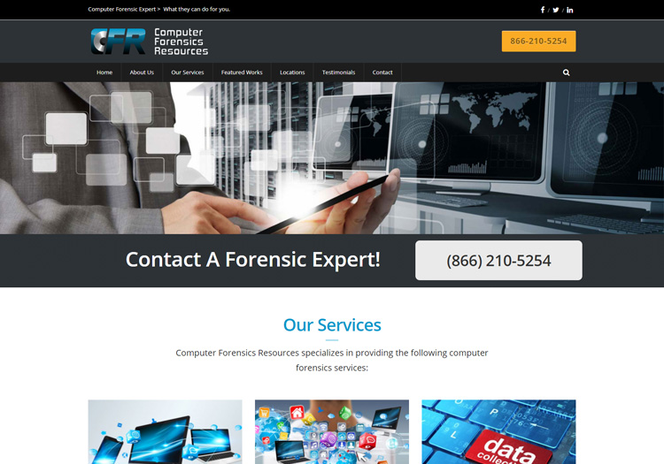 Computer Forensics Resources in Website Redesign